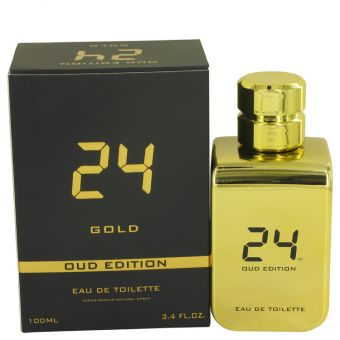 Image of   24 Gold Oud Edition by ScentStory - Eau De Toilette Concentree Spray (Unisex) 100 ml - til mænd