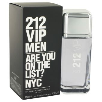 Image of   212 Vip by Carolina Herrera - Eau De Toilette Spray 200 ml - til mænd