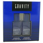 GRAVITY by Coty - Gift Set -- Two 1.7 oz 0ml - til mænd