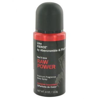 Image of   Designer Imposters Raw Power by Parfums De Coeur - Body Spray 120 ml - til mænd