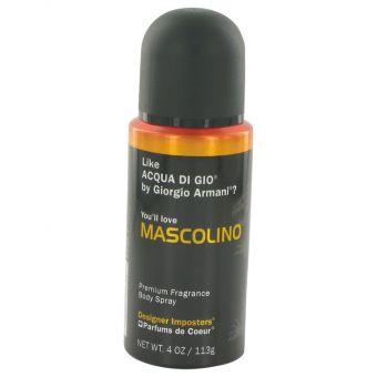 Image of   Designer Imposters Mascolino by Parfums De Coeur - Body Spray 120 ml - til mænd