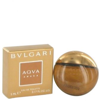 Image of   Bvlgari Aqua Amara by Bvlgari - Mini Edt .5 ml - til mænd
