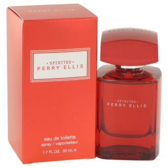 Image of   Perry Ellis Spirited by Perry Ellis - Eau De Toilette Spray 50 ml - til mænd