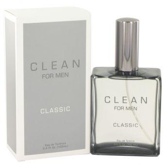 Image of   Clean Men by Clean - Eau De Toilette Spray 100 ml - til mænd