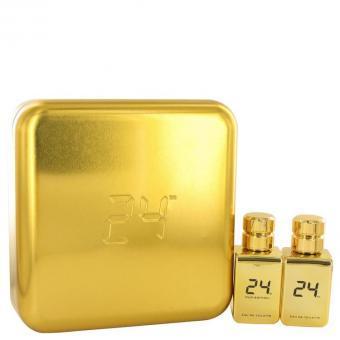 Image of   24 Gold Oud Edition by ScentStory - Gift Set -- 24 Gold 1.7 oz Eau De Toilette Spray + 24 Gold Oud 1.7 oz Eau De 0ml - til mænd