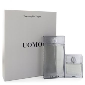 Image of   Zegna Uomo by Ermenegildo Zegna - Gift Set Eau De Toilette Spray + Eau De Toilette Spray - til mænd
