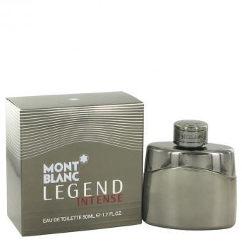 Image of   Montblanc Legend Intense by Mont Blanc - Eau De Toilette Spray 50 ml - til mænd