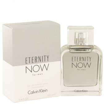 Image of   Eternity Now by Calvin Klein - Eau De Toilette Spray 100 ml - til mænd