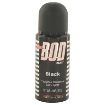 Image of   Bod Man Black by Parfums De Coeur - Body Spray 120 ml - til mænd