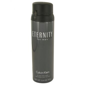 Image of   ETERNITY by Calvin Klein - Body Spray 160 ml - til mænd
