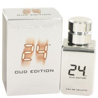 Image of   24 Platinum Oud Edition by ScentStory - Eau De Toilette Concentree Spray 50 ml - til mænd