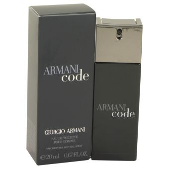 Image of   Armani Code by Giorgio Armani - Eau De Toilette Spray .20 ml - til mænd