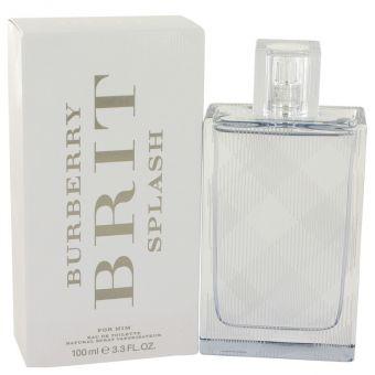Image of   Burberry Brit Splash by Burberry - Eau De Toilette Spray 100 ml - til mænd