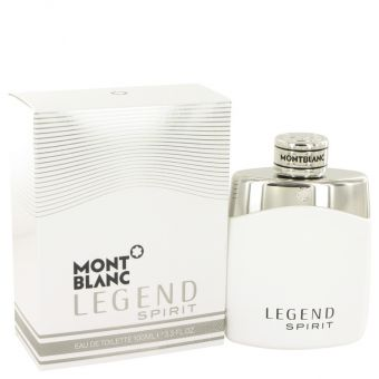 Image of   Montblanc Legend Spirit by Mont Blanc - Eau De Toilette Spray 100 ml - til mænd