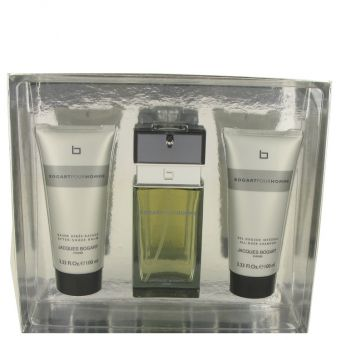 Image of   Bogart Pour Homme by Jacques Bogart - Gift Set Eau De Toilettte Spray + After Shave Balm + All Over Shampoo - til mænd