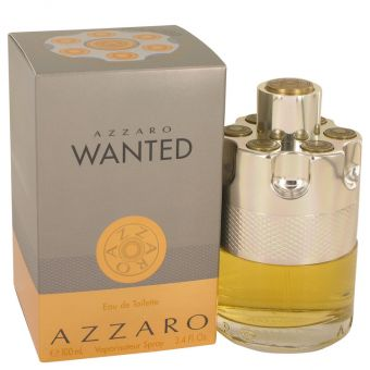 Image of   Azzaro Wanted by Azzaro - Eau De Toilette Spray 100 ml - til mænd