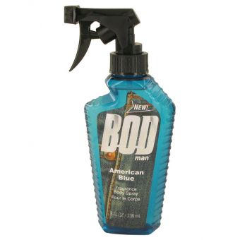 Image of   Bod Man American Blue by Parfums De Coeur - Body Spray 240 ml - til mænd