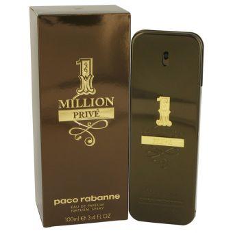 Image of   1 Million Prive by Paco Rabanne - Eau De Parfum Spray 100 ml - til mænd