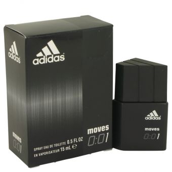 Image of   Adidas Moves 001 by Adidas - Eau De Toilette Spray .15 ml - til mænd