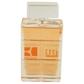 Image of   Boss Orange Feel Good Summer by Hugo Boss - Eau DeToilette Spray (Tester) 100 ml - til mænd