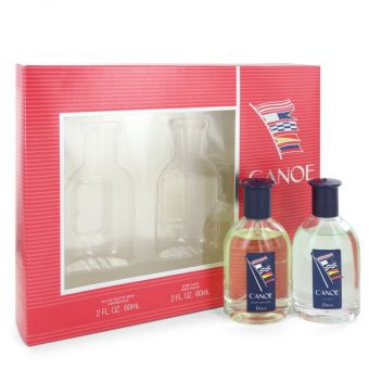 Image of   CANOE by Dana - Gift Set Eau De Toilette Spray + After Shave - til mænd