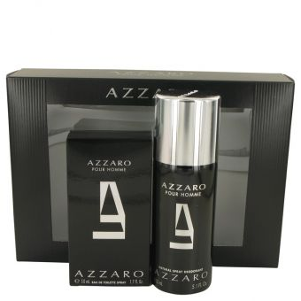 Image of   AZZARO by Azzaro - Gift Set Eau De Toilette Spray + Deodorant Spray - til mænd