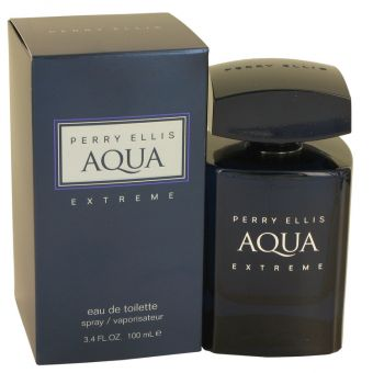 Image of   Perry Ellis Aqua Extreme by Perry Ellis - Eau De Toilette Spray 100 ml - til mænd