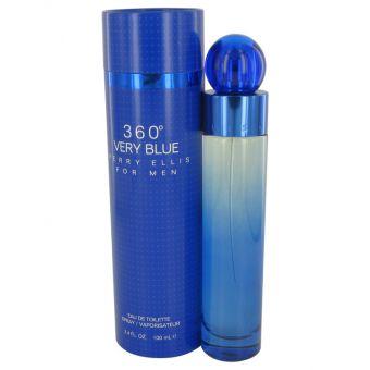 Image of   Perry Ellis 360 Very Blue by Perry Ellis - Eau De Toilette Spray 100 ml - til mænd