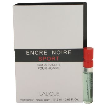Image of   Encre Noire Sport by Lalique - Vial (sample) .2 ml - til mænd