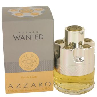 Image of   Azzaro Wanted by Azzaro - Eau De Toilette Spray 50 ml - til mænd