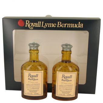 Image of   Royall Bay Rhum by Royall Fragrances - Gift Set Two All Purpose Lotion / Cologne Splash Includes 2 Spray Pumps - til mænd