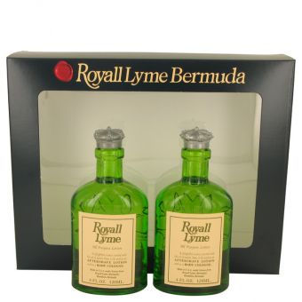 Image of   ROYALL LYME by Royall Fragrances - Gift Set Two All Purpose Lotion / Cologne Splash includes 2 Spray pumps - til mænd