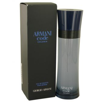 Image of   Armani Code Colonia by Giorgio Armani - Eau De Toilette Spray 127 ml - til mænd