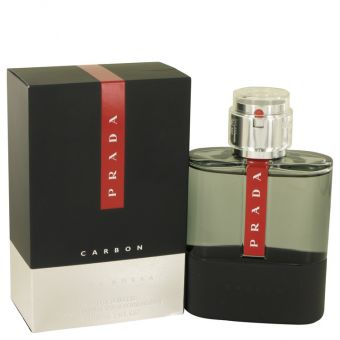Image of   Prada Luna Rossa Carbon by Prada - Eau De Toilette Spray 100 ml - til mænd