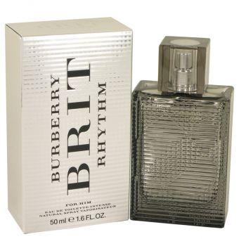 Image of   Burberry Brit Rhythm Intense by Burberry - Eau De Toilette Spray 50 ml - til mænd