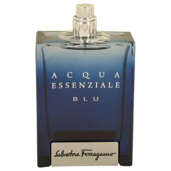 Image of   Acqua Essenziale Blu by Salvatore Ferragamo - Eau De Toilette Spray (Tester) 100 ml - til mænd