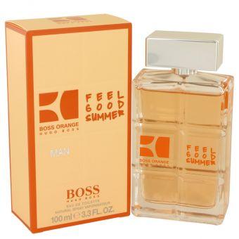 Image of   Boss Orange Feel Good Summer by Hugo Boss - Eau De Toilette Spray 100 ml - til mænd
