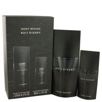 Image of   Nuit D'issey by Issey Miyake - Gift Set Eau De Toilette Spray + Eau De Toilette Spray - til mænd
