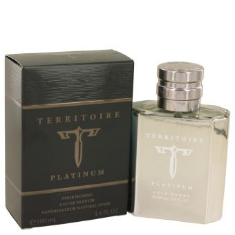 Image of   Territoire Platinum by YZY Perfume - Eau De Parfum Spray 100 ml - til mænd