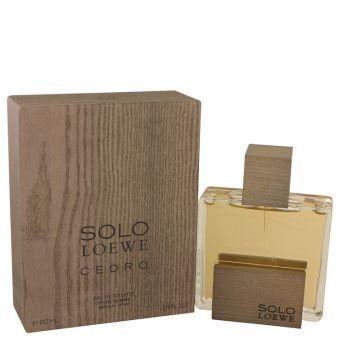 Image of   Solo Loewe Cedro by Loewe - Eau De Toilette Spray 100 ml - til mænd
