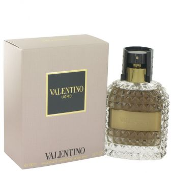 Image of   Valentino Uomo by Valentino - Gift Set Eau De Toilette Spray + After Shave Balm - til mænd