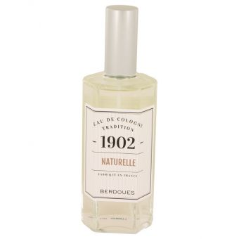 Image of   1902 Natural by Berdoues - Eau De Cologne Spray (Unisexunboxed) 125 ml - til mænd