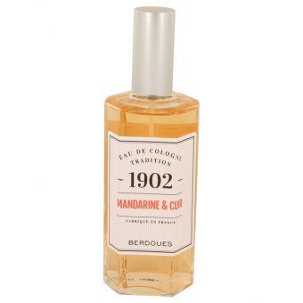Image of   1902 Mandarine Leather by Berdoues - Eau De Cologne Spray (Unisexunboxed)) 125 ml - til mænd