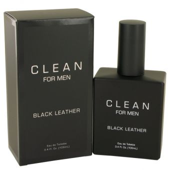 Image of   Clean Black Leather by Clean - Eau De Toilette Spray 100 ml - til mænd