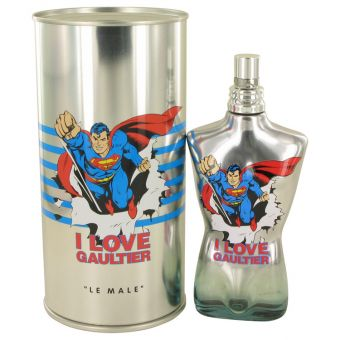 Image of   JEAN PAUL GAULTIER by Jean Paul Gaultier - Superman Eau Fraiche Spray (Limited Edition) 125 ml - til mænd