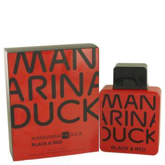 Image of   Mandarina Duck Black & Red by Mandarina Duck - Eau De Toilette Spray 100 ml - til mænd