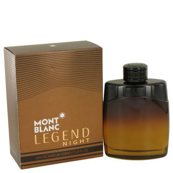 Image of   Montblanc Legend Night by Mont Blanc - Eau De Parfum Spray 100 ml - til mænd