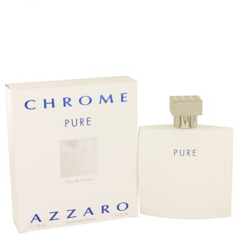 Image of   Chrome Pure by Azzaro - Eau De Toilette Spray 100 ml - til mænd