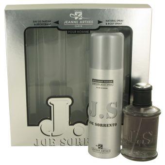 Image of   Joe Sorrento by Jeanne Arthes - Gift Set Eau Dce Partfum Spray +m Body Spray - til mænd