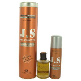 Image of   Joe Sorrento The Flasher by Joe Sorrento - Gift Set Eau De Parfum Spray + Body Spray - til mænd